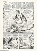 "Original Comic Art:Complete Story, Joe Certa and Tom Hickey (attributed) - Chamber of Chills #5Complete 5-page Story, ""Spirit in the Stone"" Original Art (Harvey,..."