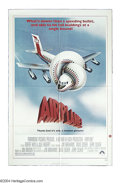 "Movie Posters:Comedy, Airplane! (Paramount, 1980). One Sheet (27"" X 41""). This send up ofthe disaster films of the 1970s was a smash hit for Para..."