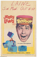 "Movie Posters:Comedy, Bellboy, The (Paramount, 1960). Window Card (14"" X 22"").Writer-director Jerruy Lewis shot this movie in four weeks atMiami..."