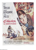 "Movie Posters:Western, Chuka (Paramount, 1967). French (47"" X 63""). Boris Grisson was thedesigner of this colorful poster for the Rod Taylor, Erne..."