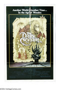 "Movie Posters:Fantasy, Dark Crystal, The (Universal, 1982). One Sheet (27"" X 41""). Jim Henson and Frank Oz co-directed this muppet-like yarn set in..."