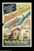 """Movie Posters:War, Dragonfly Squadron (Allied Artists, 1954). One Sheet (27"""" X 41"""").Korean war film originally shoot in 3-D but never released..."""