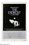 """Movie Posters:Horror, Exorcist, The (Warner Brothers, 1974). One Sheet (27"""" X 41""""). Horror at it's gut wrenching best in Bill Freidkin's version o..."""