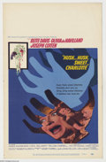 """Movie Posters:Horror, Hush Hush Sweet Charlotte (20th Century Fox, 1964). Window Card (14"""" X 22""""). Bette Davis stars in this mystery thriller abou..."""