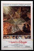 "Movie Posters:Animated, Lord of the Rings, The (United Artists, 1978). One Sheet Style B(27"" X 41""). This is the rare style poster from the Ralph B..."