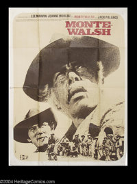 """Monte Walsh (National General, 1970). French (47"""" X 63""""). Large French poster from the Bill Fraker modern clas..."""