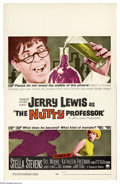 "Movie Posters:Comedy, Nutty Professor, The (Paramount, 1963). Window Card (14"" X 22"").This is considered by many to be the best of Jerry Lewis' c..."