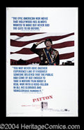 "Movie Posters:War, Patton (20th Century Fox, 1970). One Sheet (27"" X 41""). George C.Scott won the Academy Award for his role as 'ol ""Blood and..."