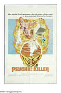 "Movie Posters:Horror, Psychic Killer (AVCO Embassy, 1975). One Sheet (27"" X 41""). NIce poster for this low budget thriller starring Jim Hutton in ..."