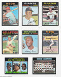 Baseball Cards:Sets, Baseball 1971 Topps Complete Set NM+ UnCertified. The 1971 ...