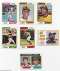 Baseball Cards:Sets, Baseball 1974 Topps Complete Set NM UnCertified. A ...