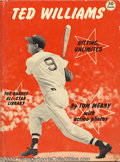 Baseball Collectibles:Publications, Ted Williams Premium Photo, Book, and Magazine (3) Offered ... (3items)