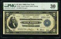 Fr. 750 $2 1918 Federal Reserve Bank Note PMG Very Fine 30
