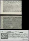 Colonial Notes:New Hampshire, New Hampshire Cohen Reprints.. April 3, 1755 Redated January 1, 1756 10s Choice About New;. April 3, 1755 Redated Janu... (Total: 3 notes)