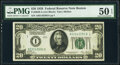 Small Size:Federal Reserve Notes, Fr. 2050-A $20 1928 Federal Reserve Note. PMG About Uncirculated 50 EPQ.. ...