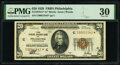 Fr. 1870-C* $20 1929 Federal Reserve Bank Star Note. PMG Very Fine 30