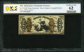 Fr. 1357aSP 50¢ Third Issue Justice Narrow Margin Face PCGS Banknote Uncirculated 62