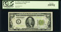 Small Size:Federal Reserve Notes, Fr. 2152-L* $100 1934 Light Green Seal Federal Reserve Star Note. PCGS Very Fine 25PPQ.. ...