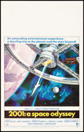 """Movie Posters:Science Fiction, 2001: A Space Odyssey (MGM, 1968). Very Fine+. Window Card (14"""" X 22"""") Robert McCall Artwork. Science Fiction.. ..."""