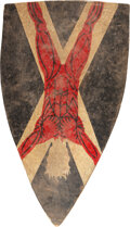 """Movie/TV Memorabilia:Props, House of Bolton """"Flayed Man"""" Hero Shield from"""
