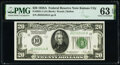 Small Size:Federal Reserve Notes, Fr. 2051-J $20 1928A Federal Reserve Note. PMG Choice Uncirculated 63 EPQ.. ...