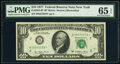 Small Size:Federal Reserve Notes, Fr. 2023-B* $10 1977 Federal Reserve Star Note. PMG Gem Uncirculated 65 EPQ.. ...