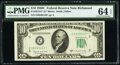 Fr. 2013-E* $10 1950C Federal Reserve Star Note. PMG Choice Uncirculated 64 EPQ