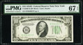 Small Size:Federal Reserve Notes, Fr. 2009-B $10 1934D Federal Reserve Note. PMG Superb Gem Unc 67 EPQ.. ...