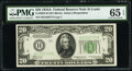 Small Size:Federal Reserve Notes, Fr. 2055-H $20 1934A Federal Reserve Note. PMG Gem Uncirculated 65 EPQ.. ...