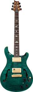 Musical Instruments:Electric Guitars, 1998 Rickenbacker McCarty Emerald Green Archtop Electric G...