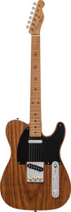 Musical Instruments:Electric Guitars, 2017 Fender Telecaster Roasted Ash Solid Body Electric Guitar, Serial #V1738349.. ...