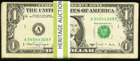 Fifty $1 Web Federal Reserve Notes Very Good or Better. ... (Total: 50 notes)