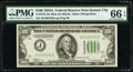 Small Size:Federal Reserve Notes, Fr. 2153-J $100 1934A Mule Federal Reserve Note. PMG Gem Uncirculated 66 EPQ.. ...