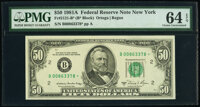 Fr. 2121-B* $50 1981A Federal Reserve Star Note. PMG Choice Uncirculated 64 EPQ