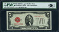 Small Size:Legal Tender Notes, Fr. 1505 $2 1928D Legal Tender Note. PMG Gem Uncirculated 66 EPQ.. ...