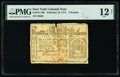 Colonial Notes:New York, New York February 16, 1771 £5 PMG Fine 12 Net.. ...