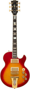 Musical Instruments:Electric Guitars, 1976 Gibson L5 Cherry Sunburst Solid Body Electric Guitar,...