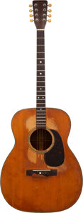 Musical Instruments:Acoustic Guitars, 1959 Martin O-18T Harman Saterlee 8-String Acoustic Guitar...