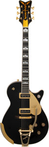 Musical Instruments:Electric Guitars, 2011 Gretsch G6134B Black Penguin Solid Body Electric Guitar, Serial #JT11104175.. ...