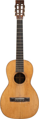 1890's Martin Style 2 Natural Acoustic Guitar