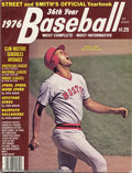 Baseball Collectibles:Publications, 1968,1976 Street & Smith Baseball Yearbooks (2) Offered in ...(2 items)