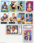 Football Cards:Lots, FOOTBALL 0 Various Group Lot NM+ UnCertified. This lot of ...