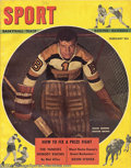 Hockey Collectibles:Publications, 1948-70 Boston Bruins Hockey Publication Lot (6) This lot ... (6items)