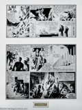 Original Comic Art:Comic Strip Art, Alex Raymond - Original Comic Strip Art for Flash Gordon Sunday dated 2-6-38 (King Features Syndicate, 1938). One of the fin...
