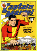 Original Comic Art:Covers, C. C. Beck - Original Art Cover Recreation for Captain Marvel #14(1974). This is an incredible recreation of a Golden Age C...