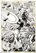 Original Comic Art:Splash Pages, John Buscema and Vince Colletta - Original Splash Page Art for Thor#211, page 6 (Marvel, 1973). Ulik, the Invincible, urges...