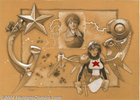 "Travis Charest - Original Illustration, ""Red Star"" (undated). We've done the research for this extraordinary p..."