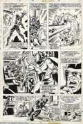 Original Comic Art:Panel Pages, Dave Cockrum and Sam Grainger - Original Art for X-Men #104(Marvel, 1977). Magneto, Eric the Red, and Cyclops are featured ...