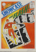 Original Comic Art:Covers, Carmine Infantino - Original Art Cover Recreation for Showcase #4(undated). The introduction of the Silver Age Flash on the...