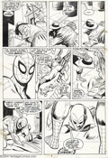Original Comic Art:Panel Pages, Gil Kane and Mike Esposito - Original Art for Marvel Team-Up #5,page 2 (Marvel, 1975). Spider-man swings into action to fin...